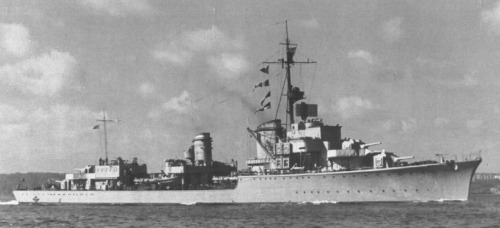 Kriegsmarine Destroyers