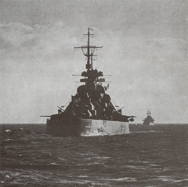 Bismarck in the Baltic