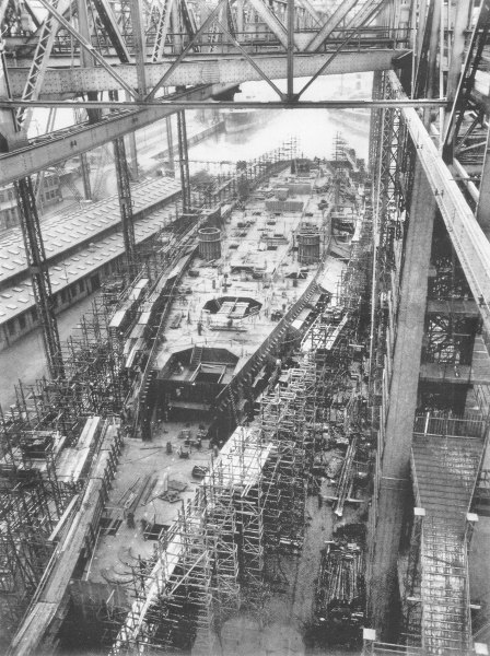 Bismarck under Construction