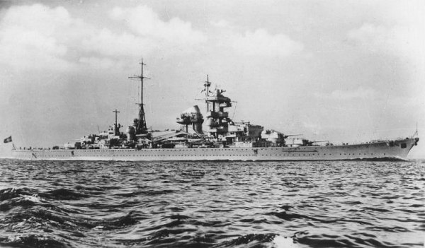 The Heavy Cruiser Blücher